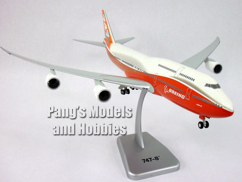 Boeing 747-8 Sunrise Livery Inflight Version 1/200 Scale Model by Hogan