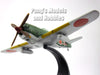 Nakajima Ki-84 Frank Japanese Fighter 1/72 Scale Diecast Metal Model by Oxford