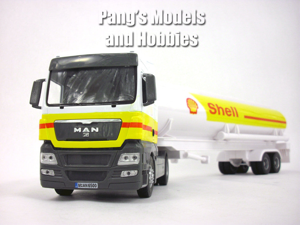 MAN TGX Shell Oil Tanker 1/32 ScaleDie cast Metal and Plastic Model by Automaxx