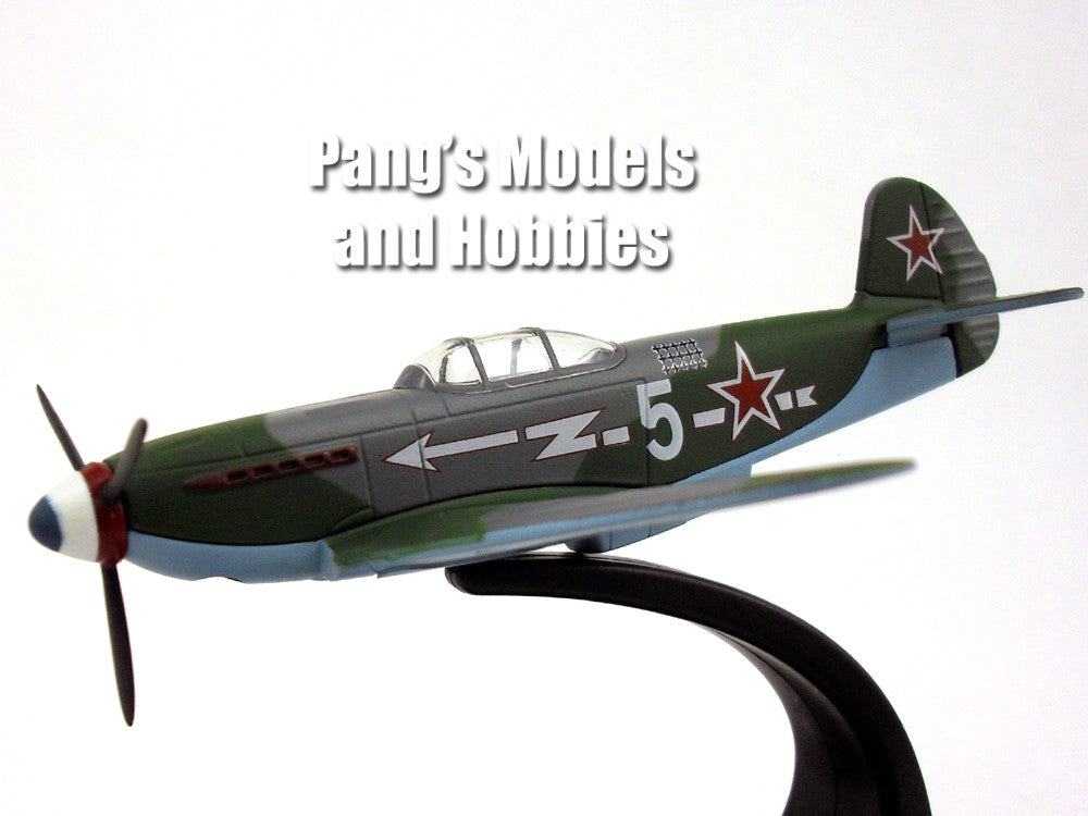 Yakovlev Yak-3 Russian Fighter 1/72 Scale Diecast Metal Model by Oxford