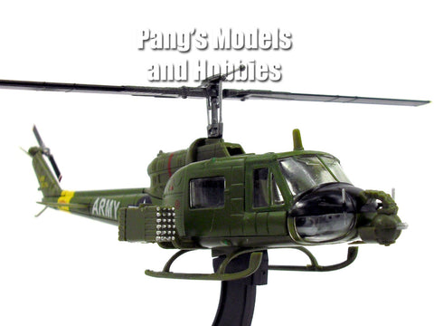 Bell UH-1B Iroquois / Huey Gunship 1/72 Scale Diecast Helicopter Model by Amercom