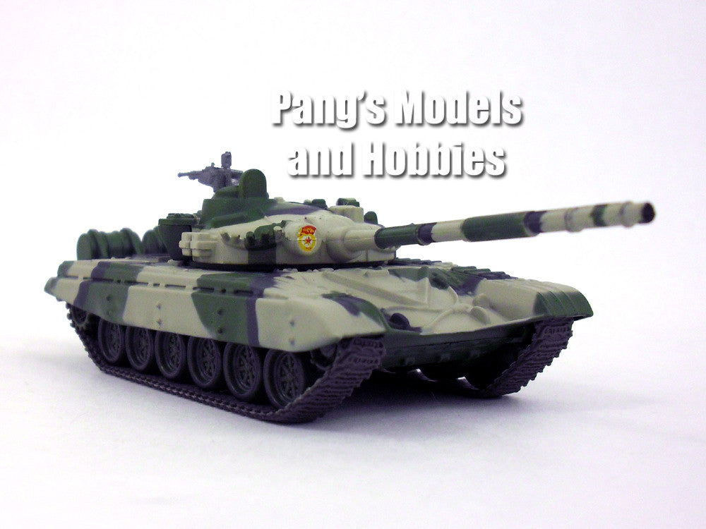 "T-72 Russian Main Battle Tank ""Camo"" 1/72 Scale Die-cast Model by Eaglemoss"