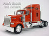 Kenworth W900 Extended Cab 1/32 Scale Diecast Metal and Plastic Model by Welly
