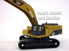 CAT 390 (390D) Excavator 1/100 Scale Diecast Metal Model by Toy State