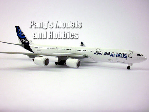 Airbus A340-500 in House Colors 1/400 Diecast Metal by Dragon Wings