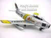 North American Aviation F-86F (F-86) Sabre 1/72 Scale Diecast Model by DeAgostini