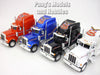 Peterbilt 379 Extended Cab 1/32 Scale Diecast Metal and Plastic Model by Welly