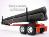 Log Trailer/Hauler 1/32 Scale Model (for 1/32 Scale Truck Cab) by NewRay