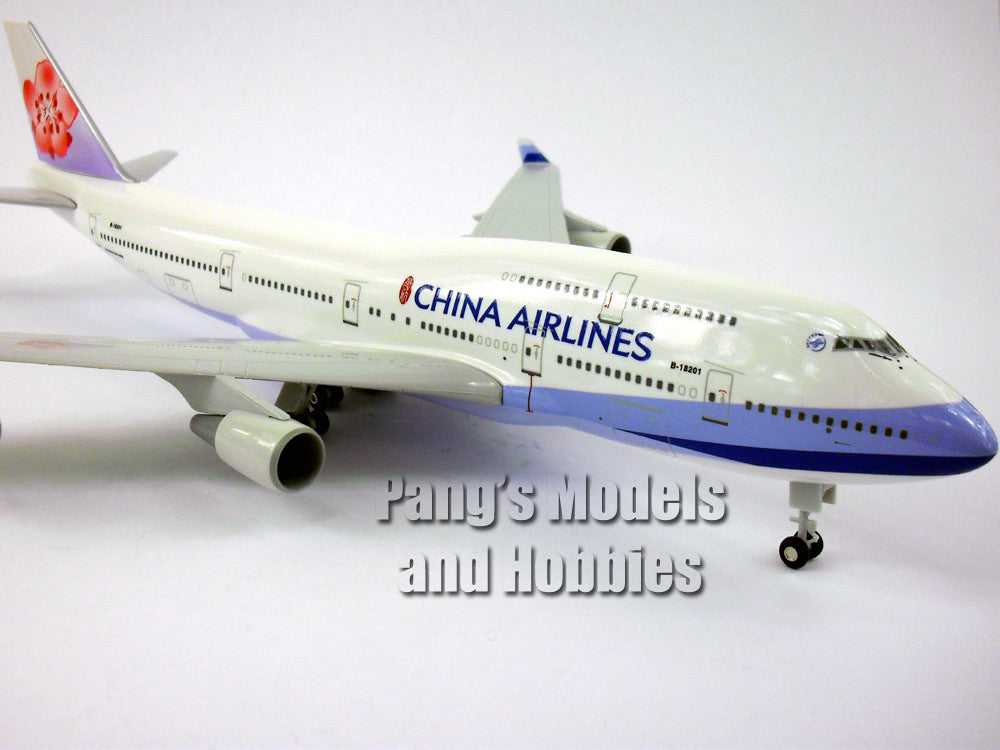Boeing 747-400 China Airlines 1/200 Scale by Sky Marks