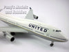 Boeing 747-400 United Airlines (Post Continental Merger) 1/200 Scale by Sky Marks