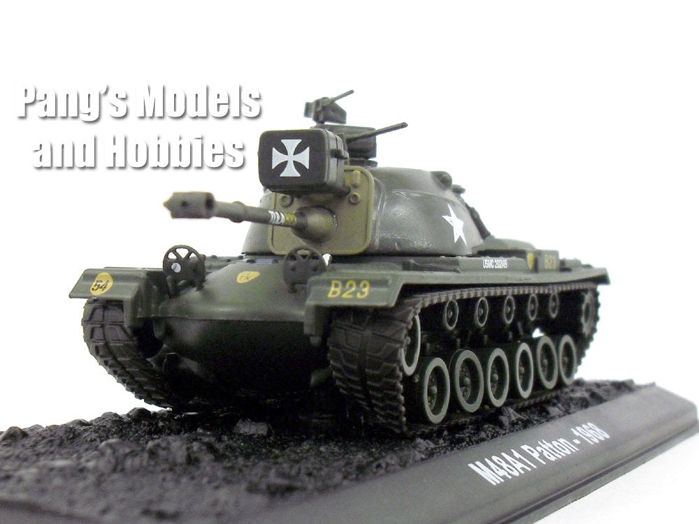 M48 Patton Tank 1/72 Scale Die-cast Model by Amercom