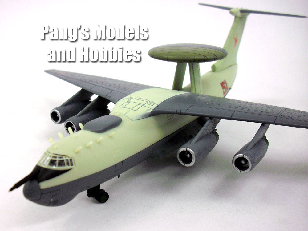 Beriev A-50 Mainstay (Russian AWACS, E-3) 1/200 Scale Diecast Metal Model by Amercom