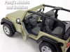 Jeep Wrangler Rubicon 1/27 Scale Diecast Metal Model by Maisto
