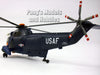 Sikorsky SH-3 Sea King USAF 1/40 Scale Helicopter Model by NewRay