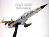 Northrop F-5 (F-5E) Tiger II 58th TWF 1/72 Scale Diecast Metal Model by Hobby Master