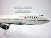 Boeing 747-400 (747) Delta Airlines 1/200 Scale Model by Flight Miniatures