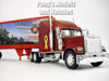 Freightliner Classic Marines Truck  1/32 Scale Diecast and Plastic Model by Newray