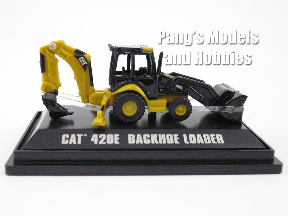 CAT 420E Backhoe Loader Diecast Metal Construction Mini's Model by Norscot
