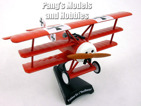 Fokker DR.1 (DR.I) Red Baron1/63 Scale Diecast Metal Model by Daron