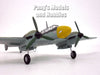 Messerschmitt Bf-110 German Fighter Bomber 1/72 Scale Diecast Metal Model by DeAgostini