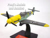 Messerschmitt Bf-109 German Fighter 1/72 Scale Diecast Metal Model by DeAgostini