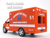 5 Inch Chicago EMS Ambulance Model by Kinsfun