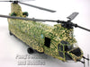 Boeing CH-47 Chinook - RAF Desert Storm 1991- 1/72 Scale Diecast Helicopter Model by Amercom