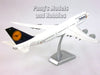 "Boeing 747-8 Lufthansa ""Fanhansa"" Inflight 1/200 Scale by Hogan"