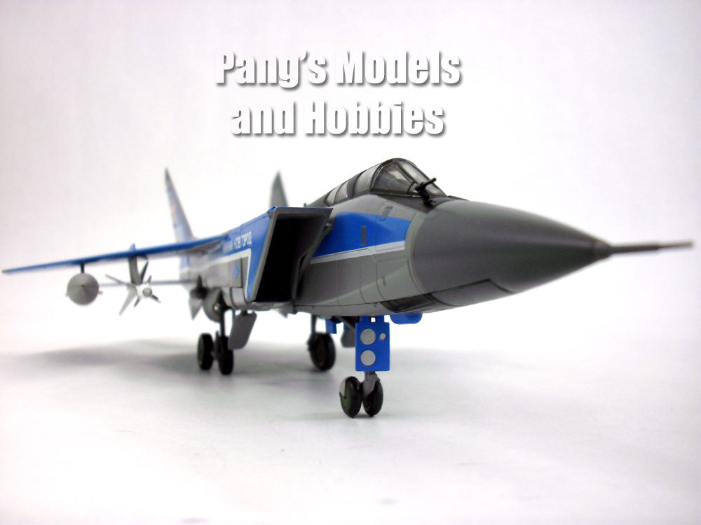 Russian Plane Mig-31 With Stand Fighter Model Jet Gift Diecast Metal Boys Toys