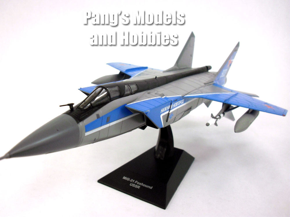Mikoyan MiG-31 Foxhound ( Advanced Mig-25) Russian 1/72 Scale Diecast & Plastic Model