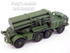 Soviet BM-27 Uragan-Hurricane Multiple Rocket Launcher 1/72 Scale Diecast Model by Eaglemoss