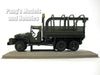 GMC CCKW 353 6x6 2.5 Ton Army Cargo Truck 1/43 Scale Diecast Metal Model by Atlas