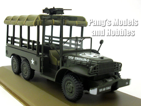 Dodge WC63 Personel - Cargo 6x6 1.5 Ton Army Truck 1/43 Scale Diecast Metal Model by Atlas