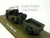 Willys MB Jeep with Bantam T3 Trailer – Canadian Army 1/43 Scale Diecast Metal Model by Atlas