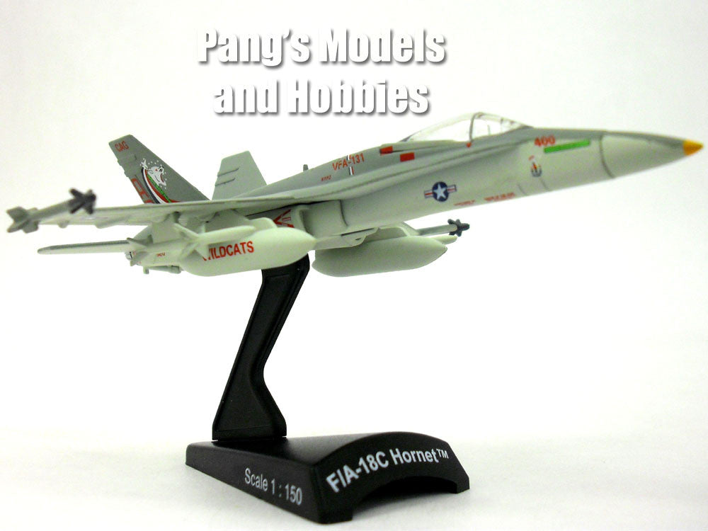 Boeing F/A-18C (F-18) Hornet VFA-131 1/150 Scale Diecast Metal Model by Daron