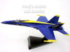 Boeing F/A-18C (F-18) Hornet Blue Angles 1/150 Scale Diecast Metal Model by Daron