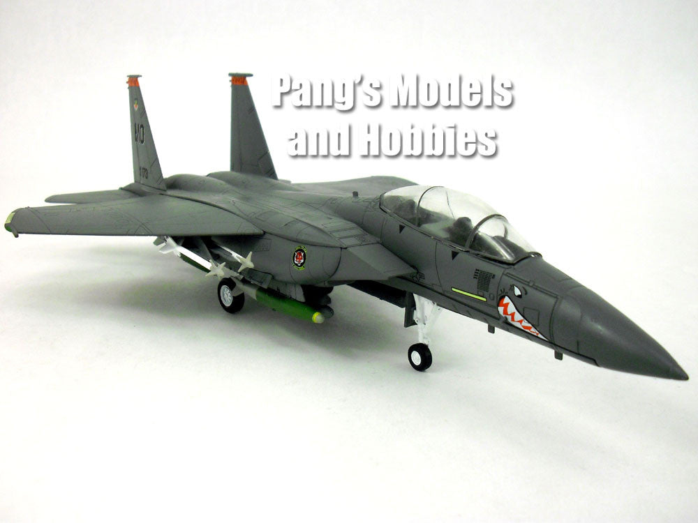Boeing/McDonnell Douglass F-15E (F-15) Strike Eagle - Shark Mouth  1/72 Scale Diecast Model by DeAgostini