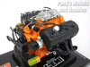 Dodge 426 HEMI V-8 Engine 1/6 Scale Diecast Metal and Plastic Model by Liberty Classics