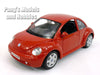 Volkswagen (VW) New Beetle 1/25 Scale Diecast Metal Model by Maisto