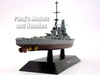 Japanese Battleship Hiei 1/1100 Scale Diecast Metal Model Ship by Eaglemoss