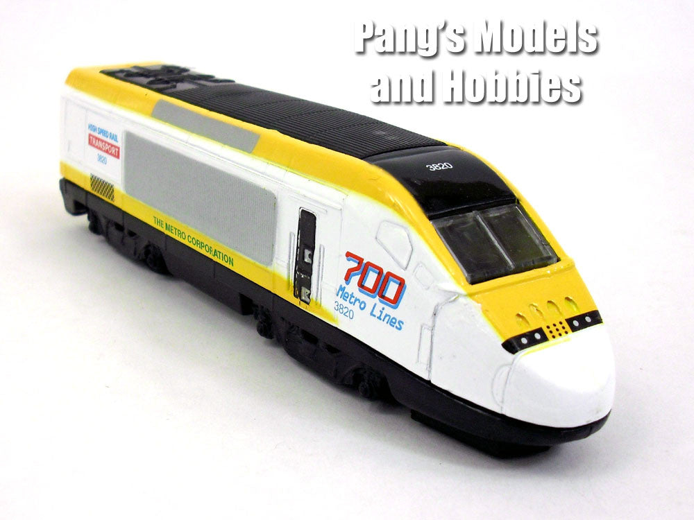 High Speed Train Diecast Metal Scale Model