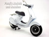 Vespa 946 1/12 Scale Die-cast Metal Model by NewRay - Black