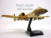 "A-10 Thunderbold II / Warthog ""Peanut"" 1/140 Scale Diecast Metal Model by Daron"