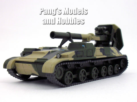 2S4 Tyulpan / Tulpan Soviet Self-Propelled Mortar 1/72 Scale Diecast Model by Eaglemoss