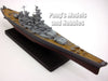 Battleship USS Missouri (BB-63) 1/1250 Scale Diecast Metal Model by Atlas