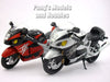 Suzuki GSX1300R Hayabusa  1/12 Scale Diecast Metal and Plastic Model by Automaxx
