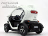 Renault Twizy 1/18 Scale Diecast Metal Model by Kinsmart