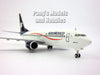 Boeing 737 MAX (737-MAX) Aeromexico 1/200 Scale Airplane Model  - Hogan