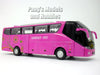 7.75 inch Luxury Bus with Light and Sound Diecast Model