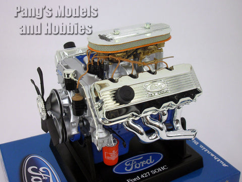 Ford 427 SOHC Engine 1/6 Scale Diecast Metal and Plastic Model by Liberty Classics